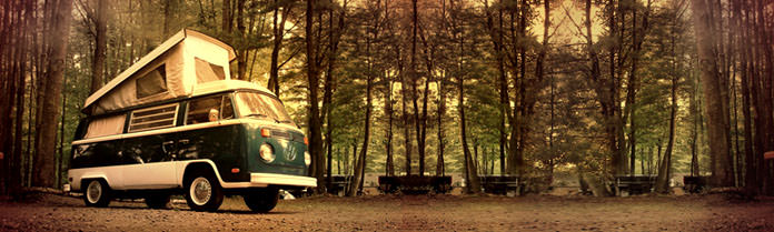 Volkswagen VW Bus 1976 Campmobile Westfalia type 2